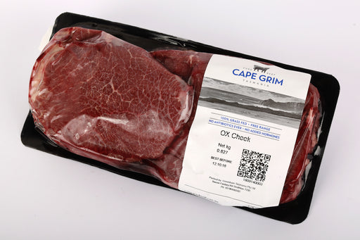 **FROZEN** Ox Cheek 2Pc- 650g +/-, Cape Grim Grass Fed Beef, Australia