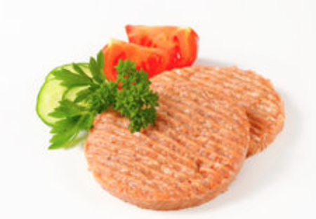 Chicken Burger Patties 2Pc/Pkt - FROZEN