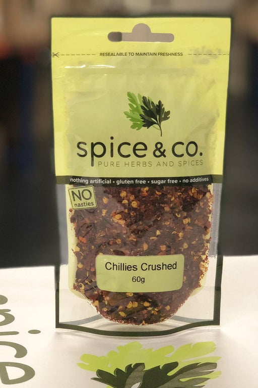 Crushed Chillies 60g - Spice & Co. - The Fishwives Singapore