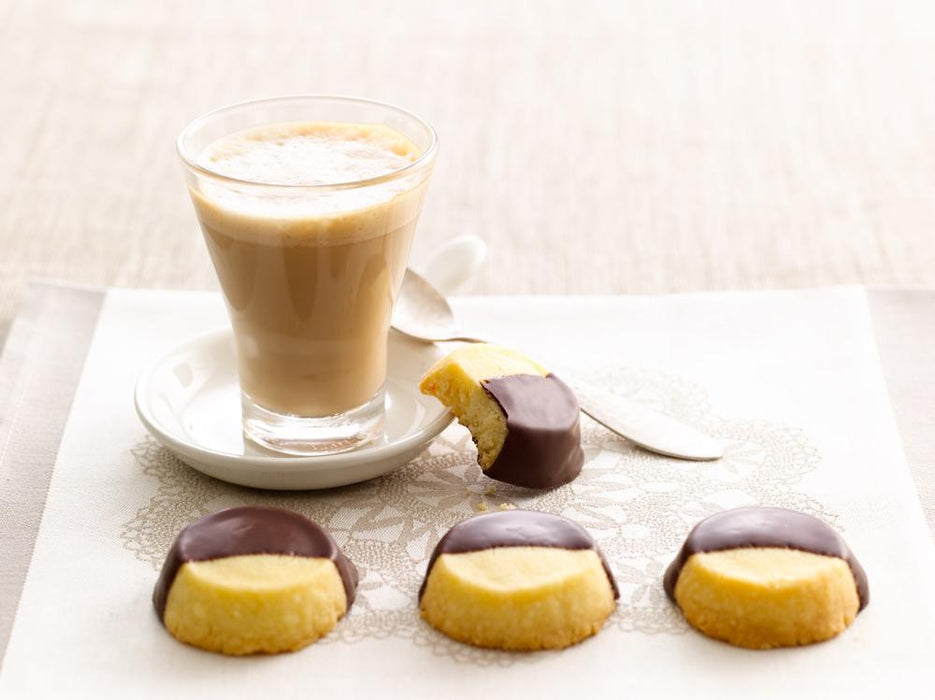 Chocolate Shortbread Buttons- il migliore - The Fishwives Singapore