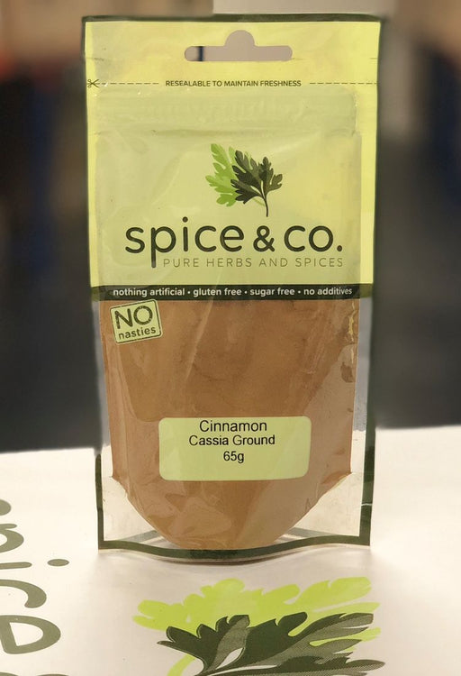 Cinnamon Ground 65g - Spice & Co. - The Fishwives Singapore
