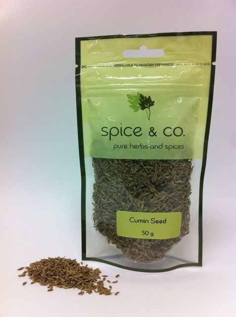 Cumin Seeds 50g - Spice & Co. - The Fishwives Singapore