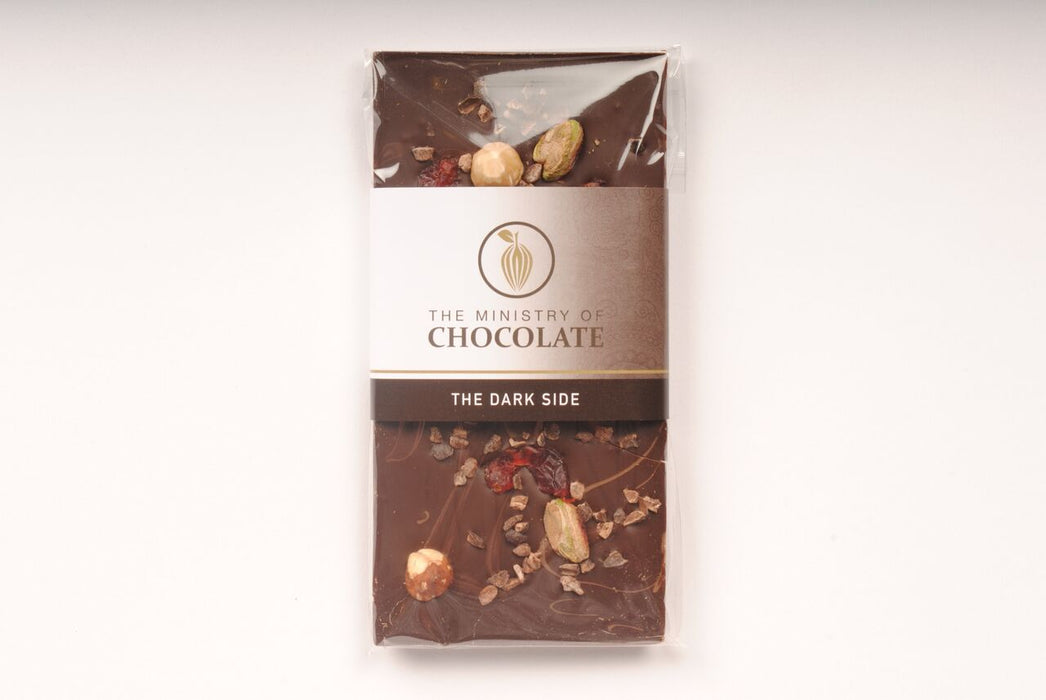 Dark Side Dark Chocolate Bar 100g - Ministry of Chocolate - The Fishwives Singapore