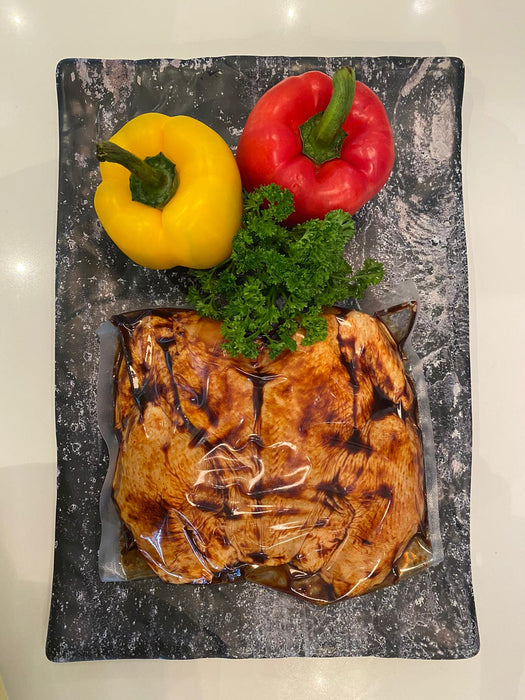 Marinated Butterflied Chilled Fresh Whole Chicken 1.1kg +/- (Certified Organic)