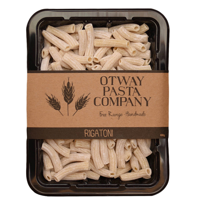 Fresh Rigatoni 400gm - Otway Pasta Company - The Fishwives Singapore