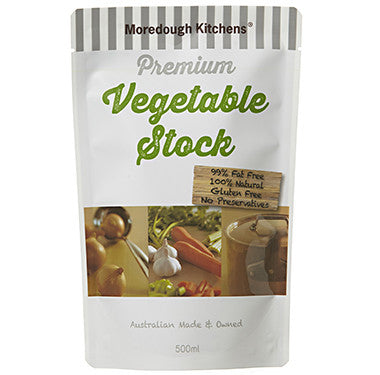 Moredough Kitchens Premium Vegetable Stock (Gluten Free) 500ml