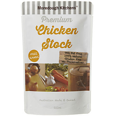 Moredough Kitchens Premium Chicken Stock (Gluten Free) 500ml