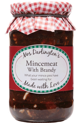Mincemeat with Brandy - Mrs Darlington's 410gm