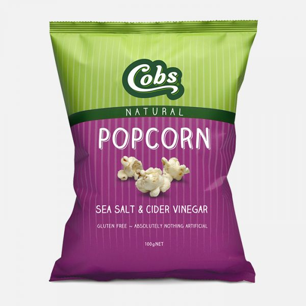 Cobs Popcorn with Natural Sea Salt & Cider Vinegar - The Fishwives Singapore