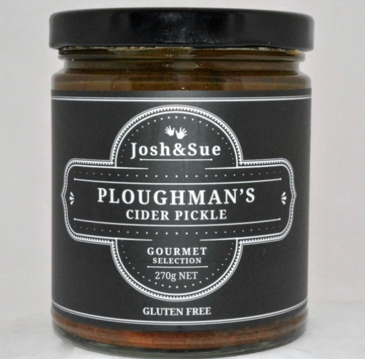 Ploughman's Cider Pickle 270gm - JOSH & SUE