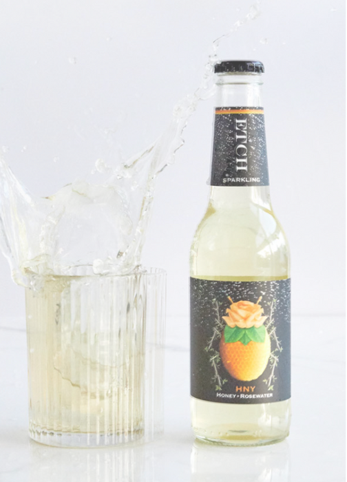 HNY Local Flora Honey Rosewater Sparkling - ETCH