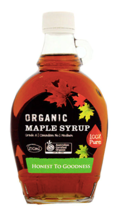 Organic Maple Syrup 250ml - Honest to Goodness