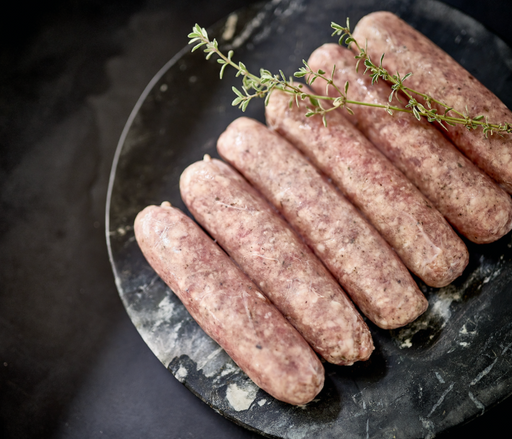 Australian Grass Fed Lamb Sausages 400g - Fishwives Own Gluten & Preservative Free