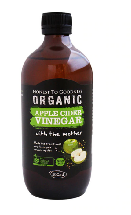 Organic Apple Cider Vinegar 500ml - Honest to Goodness