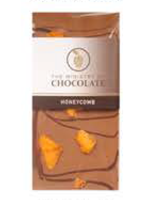 Honeycomb Chocolate Bar 100g - Ministry of Chocolate
