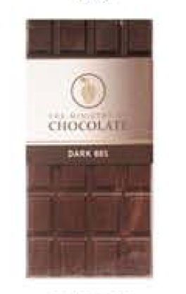80% Dark Chocolate Bar 100g - Ministry of Chocolate