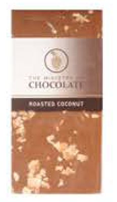 Milk Roasted Coconut Chocolate Bar 100g - Ministry of Chocolate