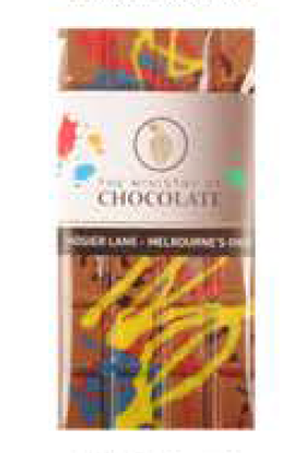 Milk Hosier Lane Chocolate Bar 100g - Ministry of Chocolate