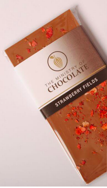 Strawberry Fields 100g - Ministry of Chocolate
