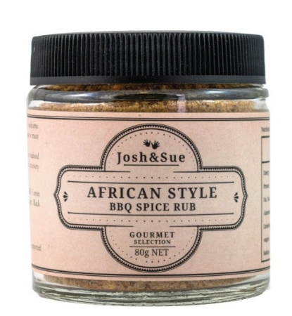 African Style BBQ Spice Rub (80g) - JOSH & SUE - The Fishwives Singapore