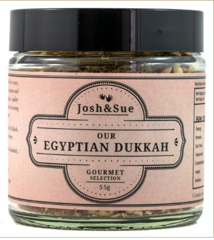 Egyptian Dukkah (55g) - JOSH & SUE - The Fishwives Singapore