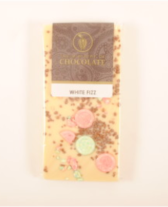 White Fizz Chocolate Bar 100g - Ministry of Chocolate