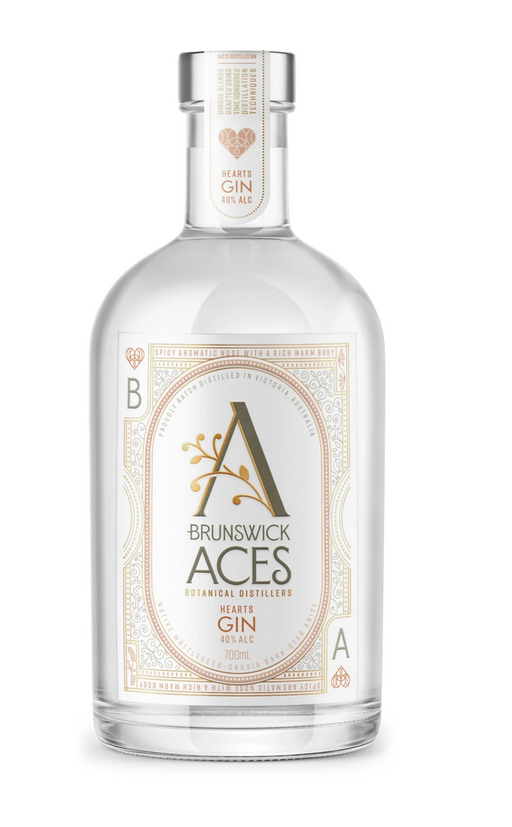 Hearts Gin - Brunswick Aces Botanical Distillery