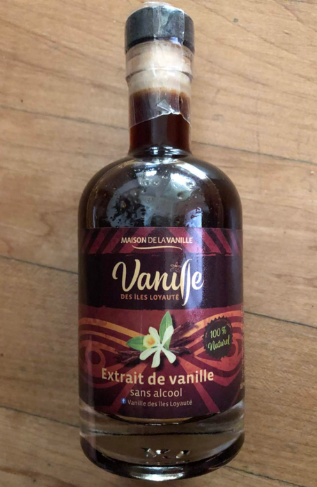PURE VANILLA EXTRACT NO ALCOHOL 200G/L CONCENTRATION - New Caledonia