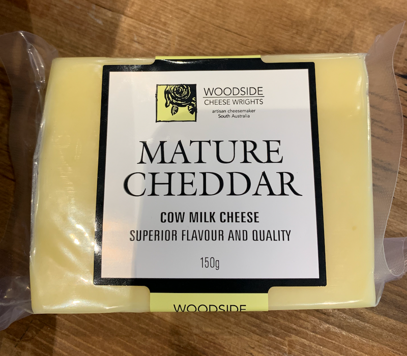 Mature Cheddar - Woodside Cheese Wrights 150gm