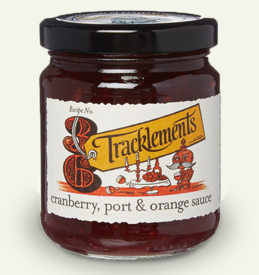Tracklements - Cranberry, Port & Orange Sauce - 310gm