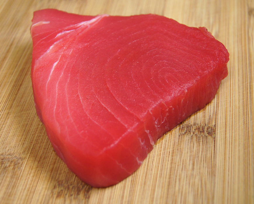 Yellowfin Tuna Steaks 200g+/- Noosa Seafoods - WILD CAUGHT - FROZEN