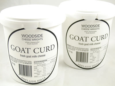 Goat Curd - Woodside Cheese Wrights, Adelaide