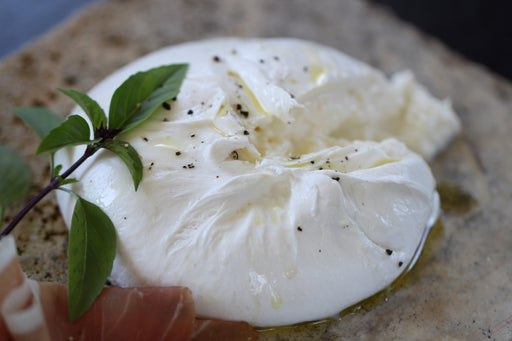 Fresh Burrata Cheese from Puglia, Italy