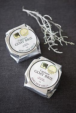 Capricorn Goat Brie Cheese 110gm - Woodside Cheese Wrights, Adelaide - The Fishwives Singapore