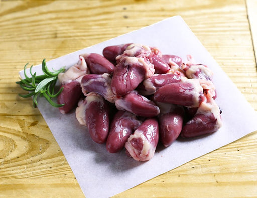 Chicken Hearts 100g FROZEN - Anxin - The Fishwives Singapore