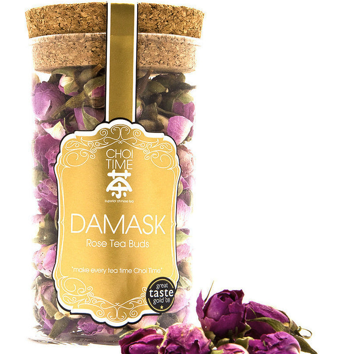 Damask Rose Buds - CHOITIME TEA