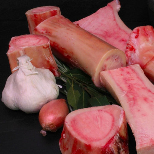 Beef Marrow Bones 2/pkt 600g - 800g - FROZEN - The Fishwives Singapore