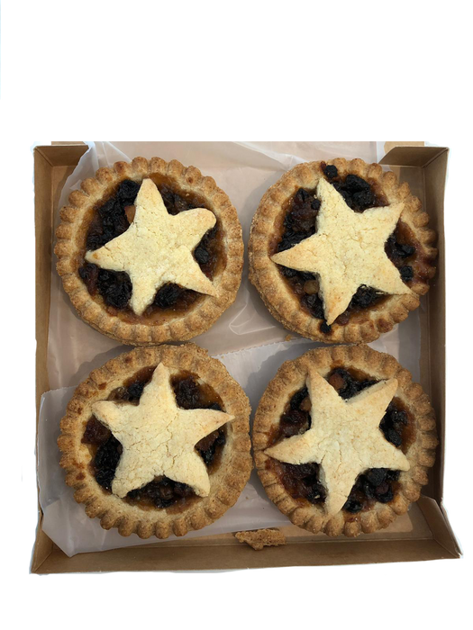 Gluten Free Fruit Mince Tarts (4/PACK) - GF Precinct - The Fishwives Singapore