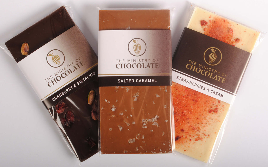 Milk Chocolate Salted Caramel 100g - Ministry of Chocolate