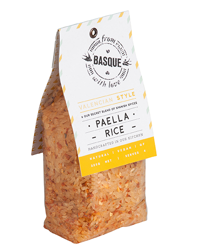 Valencian Style Paella Rice - From Basque with Love