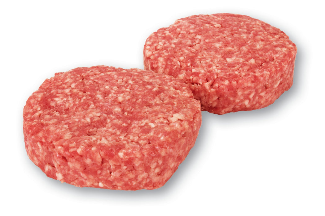 Pork Burger Patties 2Pc/Pkt - Borrowdale Certified Free Range Australian - FROZEN