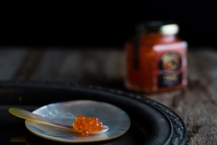 100gm Australian Salmon Caviar Jar - Yarra Valley Caviar