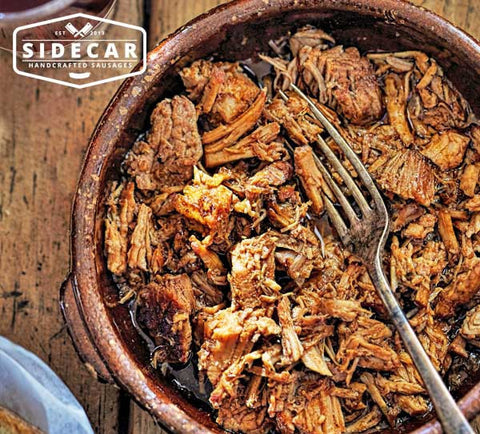 Pulled Pork Hickory Texas BBQ 500g - SIDECAR