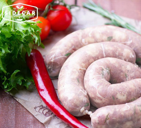 Thai Lime & Basil Chicken Sausages 500g - SIDECAR