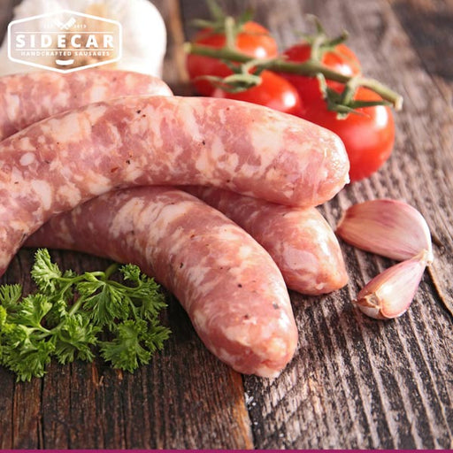 German Bratwurst Pork Sausages 500g - SIDECAR