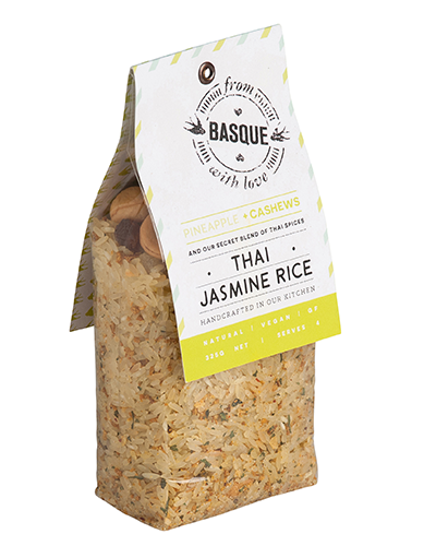 Thai Jasmine Rice with Pineapple & Cashews - From Basque with Love