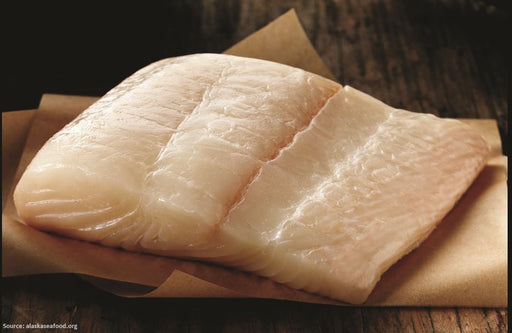 (Frozen) Wild Alaska Halibut portions - WILD CAUGHT