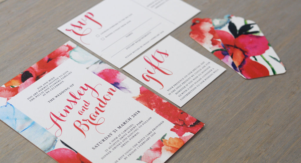 Wedding Invitations in Melbourne and Brisbane - The Paper Empire