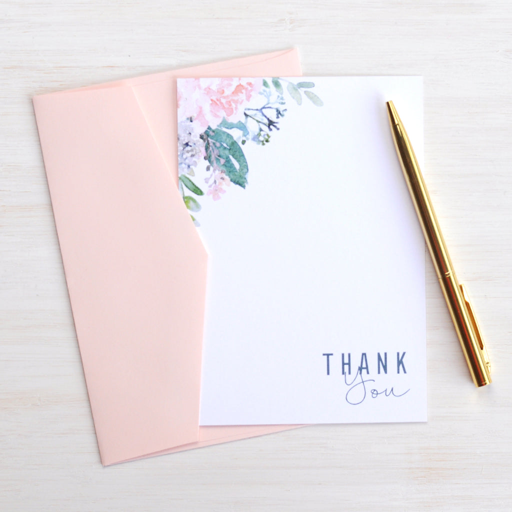Blush Pink Envelopes for Wedding Invitations