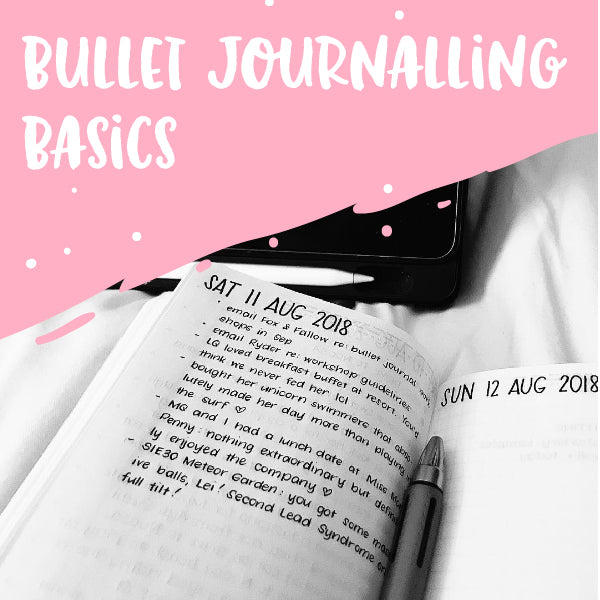Bullet Journalling Basics - Brisbane
